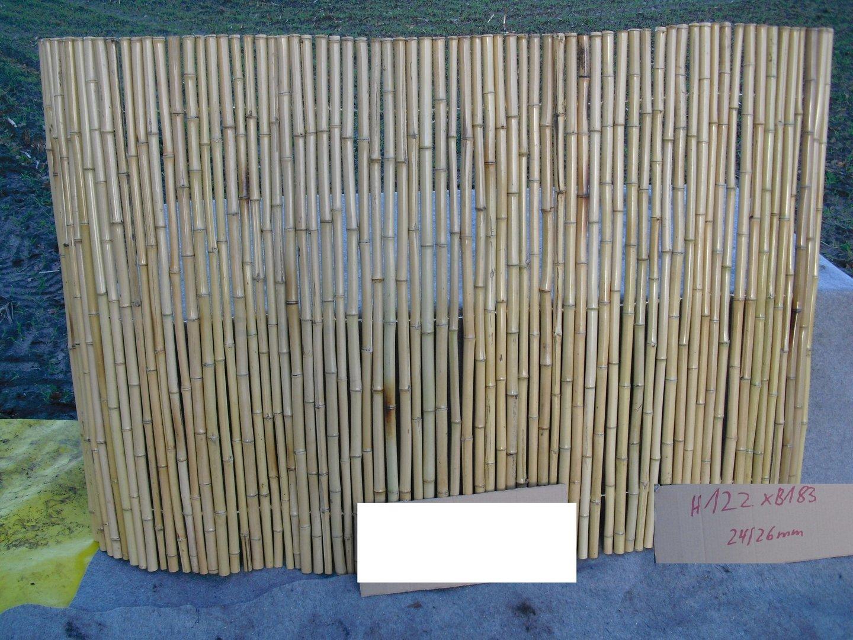 Rollzaun Bambus 100 x 250 24 26 Jens Poppe Handelsvertretungen